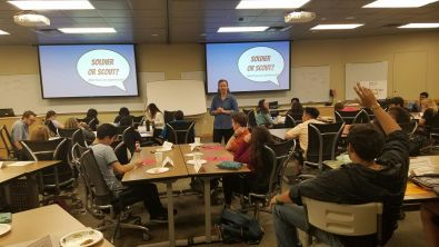 Workshop for UT McCombs Business School Leadership Program